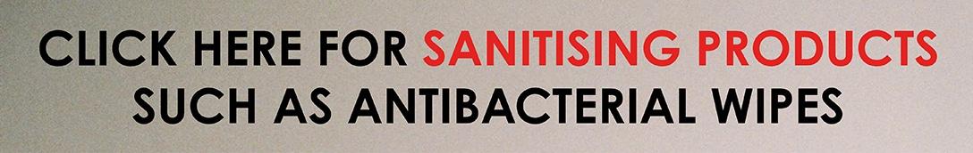 Sanitising Banner 1
