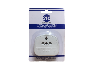 S10 Travel Adaptor (Boxed)