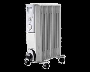 HEA1130 | DAEWOO 1.5kw 7 Fin White Oil Filled Radiator