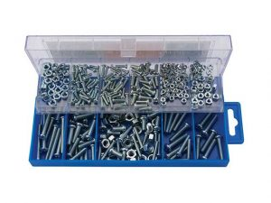 DR61272 | Draper Panhead Screw & Nut Assortment (366 Piece)