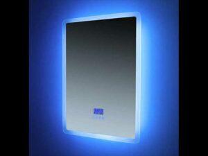 19EURO91420   EUROSHOWERS Bluetooth Mirror Portrait 50x70