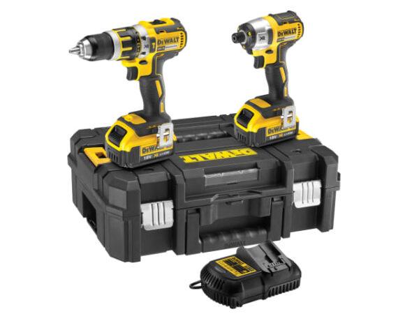 DCK259M2T | DeWALT Twin Hammer Drill & Impact Driver 2x4ah 18v