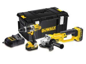 DEWDCK293M2 | DeWALT XR 3 Speed Hammer Drill & Grinder 2x4ah 18v