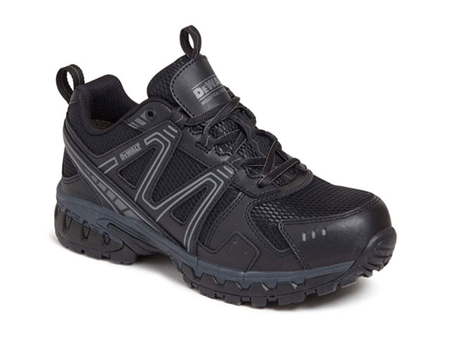 10 Mitre Black Safety Trainers Pair