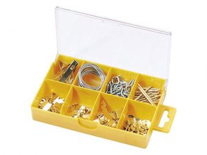 DR69040 | DRAPER 28pc Pack Picture Hooks & Nails
