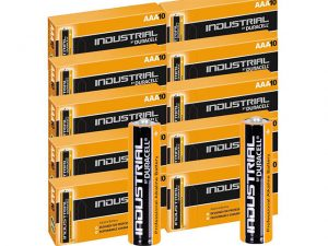 07INDMN2400   DURACELL Industrial AAA Battery Alkaline 100pk