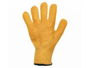 0111YCC | CRISS CROSS YELLOW GLOVES Size 10