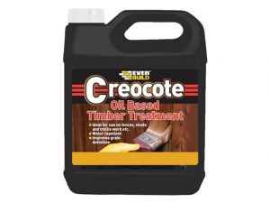 30CREODKBN4 | EVERBUILD Creocote Dark Brown 4 Litre