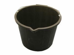 FAI3GBUCKET   FAITHFULL Black Bucket 14L