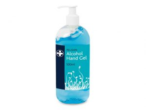 FA888P | 70% ALCOHOL HAND GEL SANITISER Pump 500ml