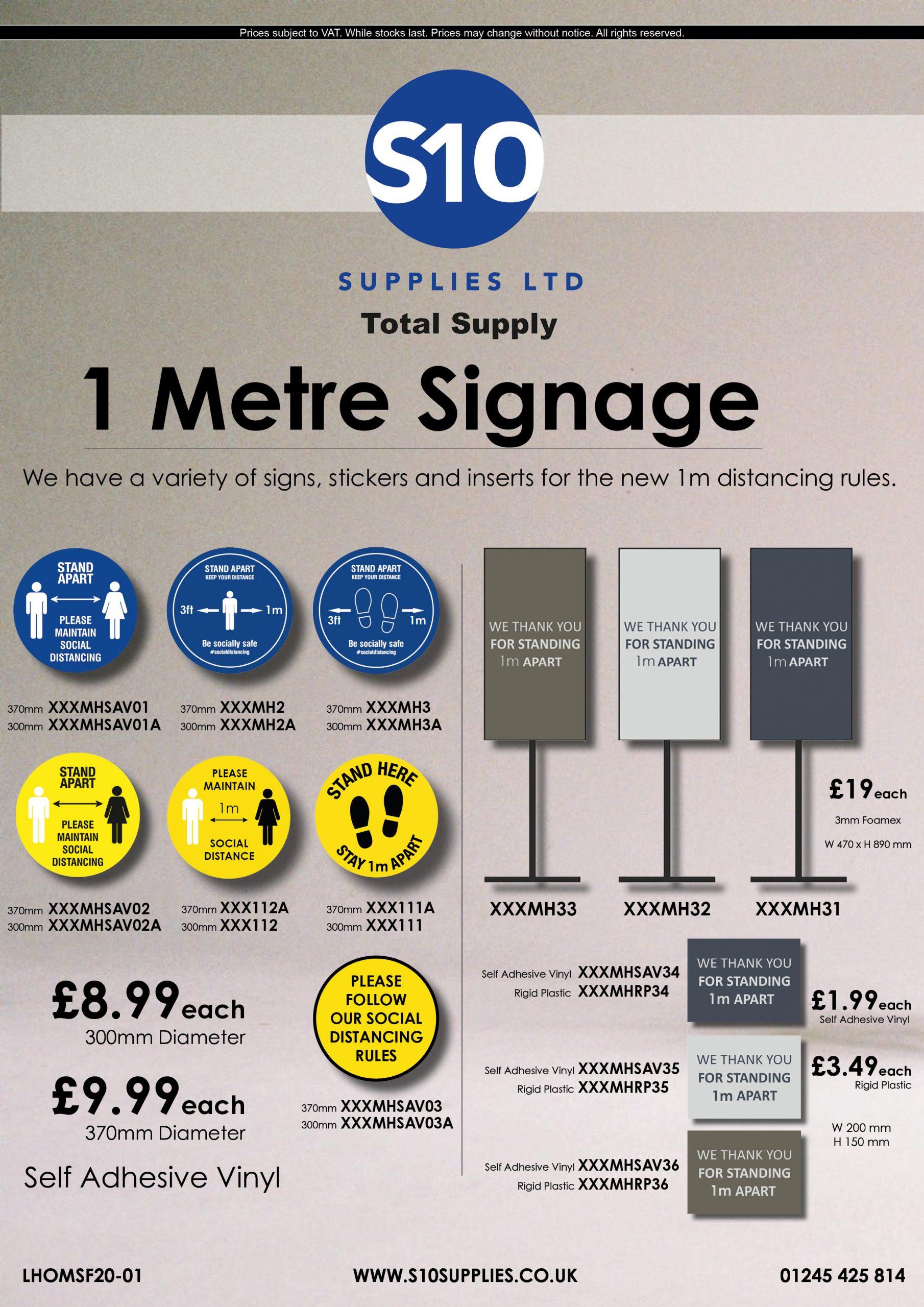 Flyer - LHDMF20-01 - 1 Meter Signage 1.3.2