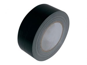 18001BUBU | Black Gaffa Tape 50mm x 50m