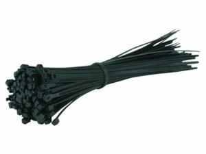 1CTB200   100pk Cable Tie Black 200mm x 4.8mm