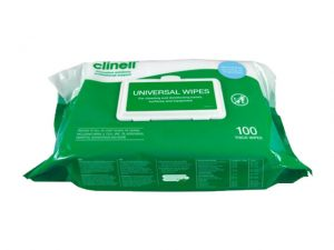 FABCW100 | CLINELL UNIVERSAL MEDICAL DISINFECTING WIPE 100pk