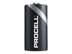 01PCD   DURACELL Procell D Battery 10pk