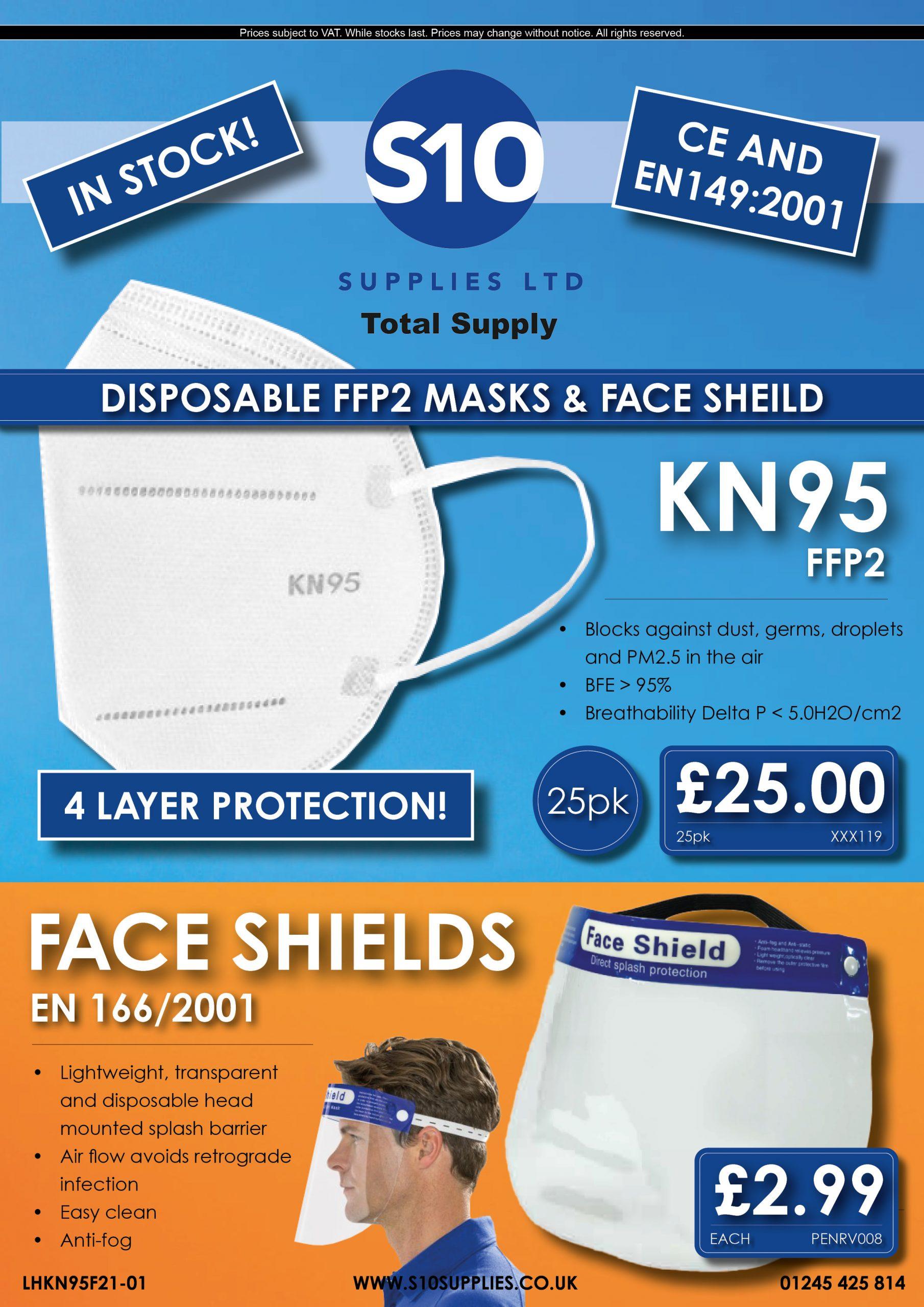 Flyer - MF21-01 - Dust Masks 5.3 KN95