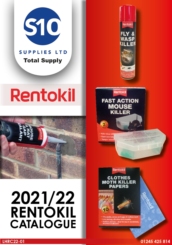 Front Cover - Rentokil Catalogue - 2022