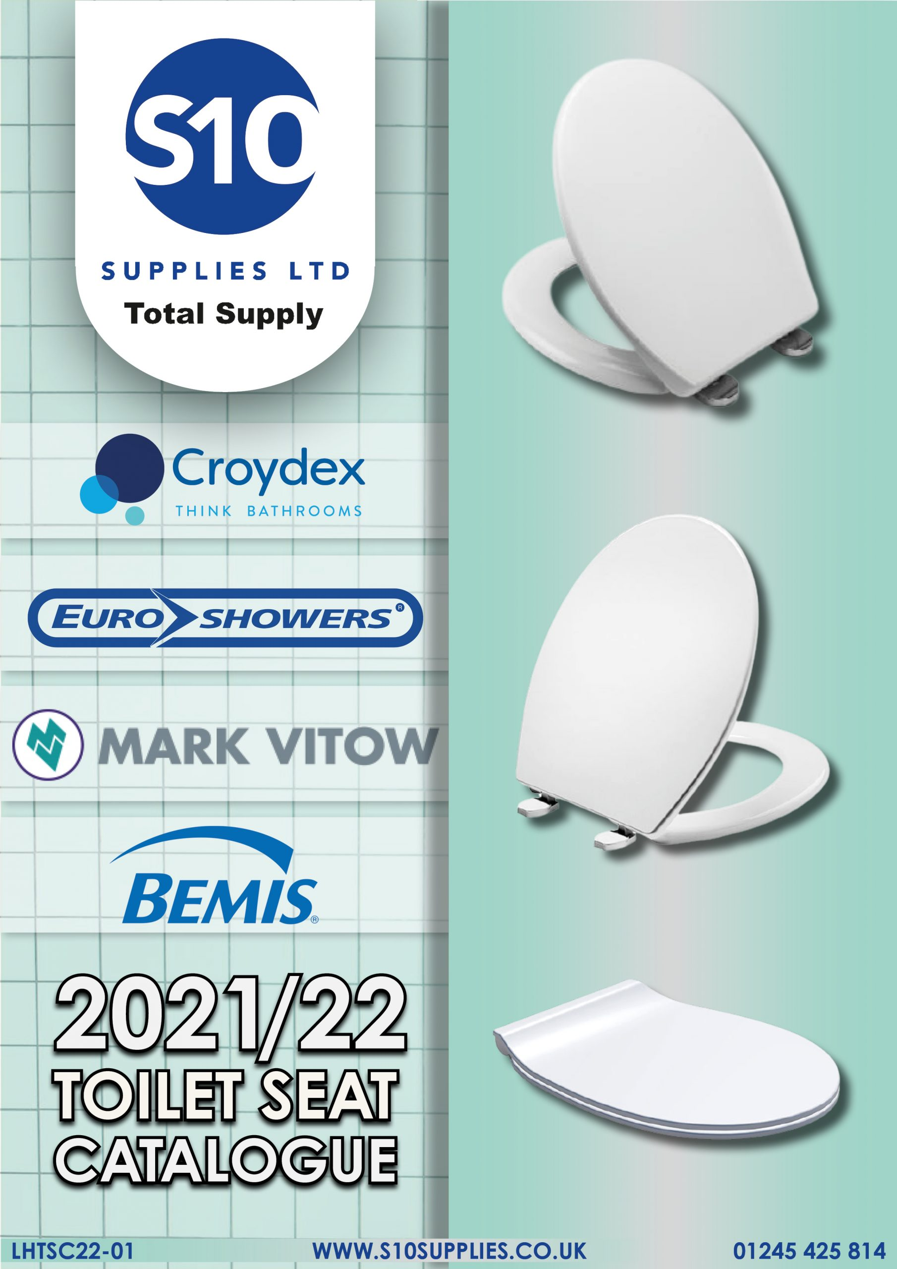 Toilet Seat Catalogue - Front cover